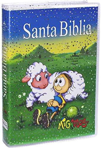 Biblia Reina Valera 1960 para ni�os / econ�mica / tapa verde y sobrecubierta cristal>