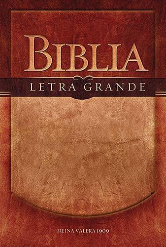 Biblia Letra Grande RVR 1909