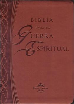 Biblia para la Guerra Espiritual - Cuero>