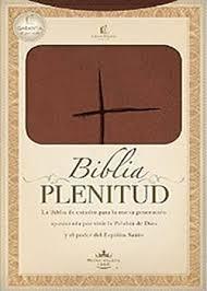 Biblia Plenitud Manual Cuerro Terracota