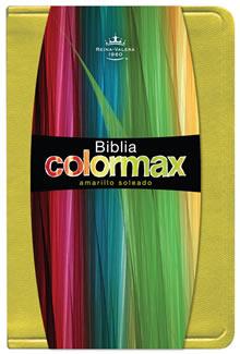 Biblia Colormax Amarillo RVR 1960