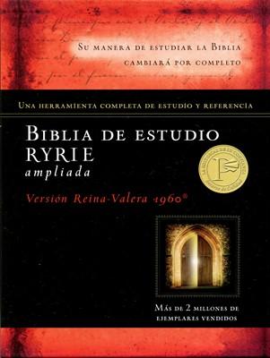 Biblia de Estudio Ryrie  Ampliada Reina Valeria 1960 Tapa Dura>