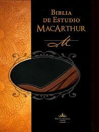 Biblia de Estudio MacArthur Cuero Duotono