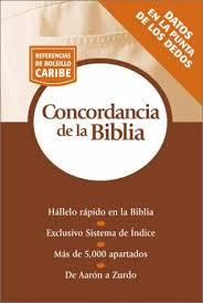 Concordancia Bíblica de bolsillo