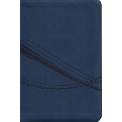 Biblia Holman Personalizada Azul con Indice