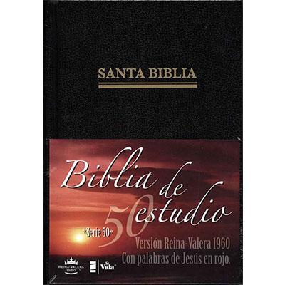 Biblia serie 50 estudio tapa dura