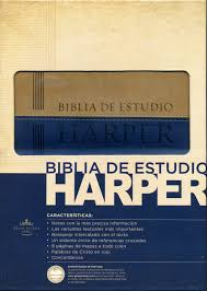Biblia Harper caribe de estudio