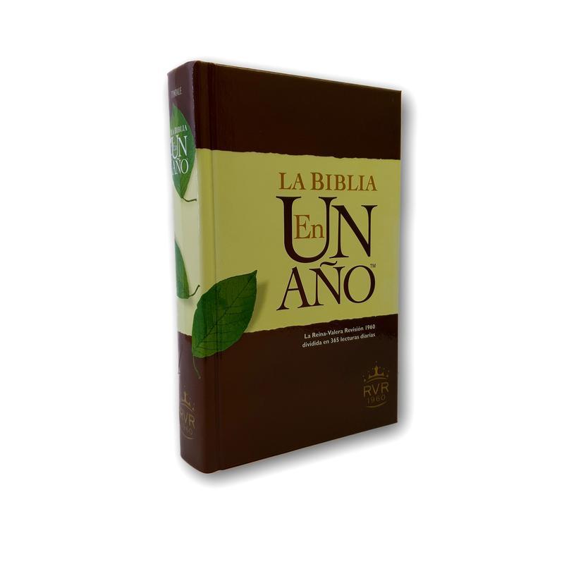 La Biblia En Un Año RVR060 Tapa Dura