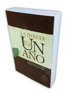La biblia en un año tapa cartulina