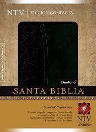 Biblia NTV Caja Compacta Onice-Negro