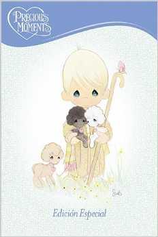 Biblia Precious Moments Rosada caja