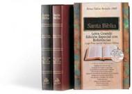 Biblia Edicion Especial con Referencia  Piel Vino