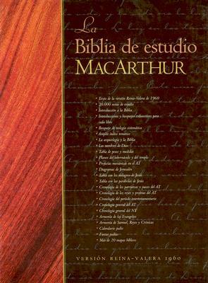 Biblia Macarthur Estudio Cuero