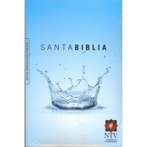 Santa Biblia / Nueva Traducci�n Viviente / edici�n Cosecha / tapa azul>
